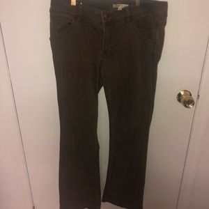 CAbi Brown Faded Jeans Size 6